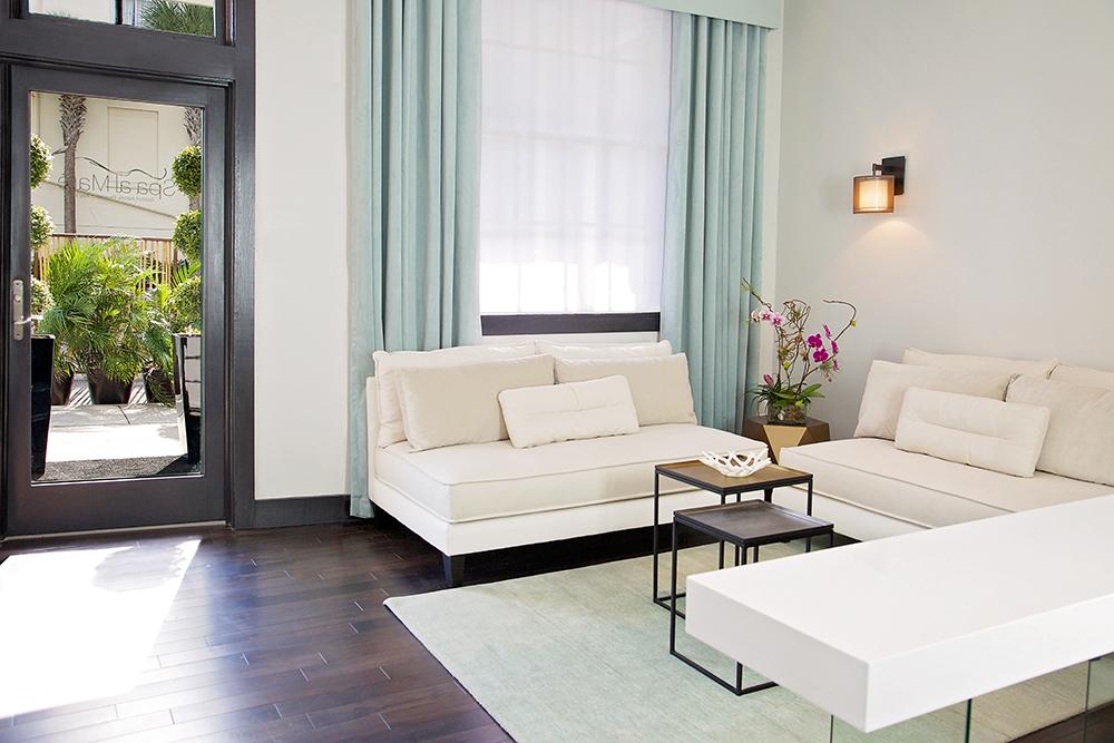 Spa al Maré at Casa Marina, A Waldorf Astoria Resort, in Key West, Florida.