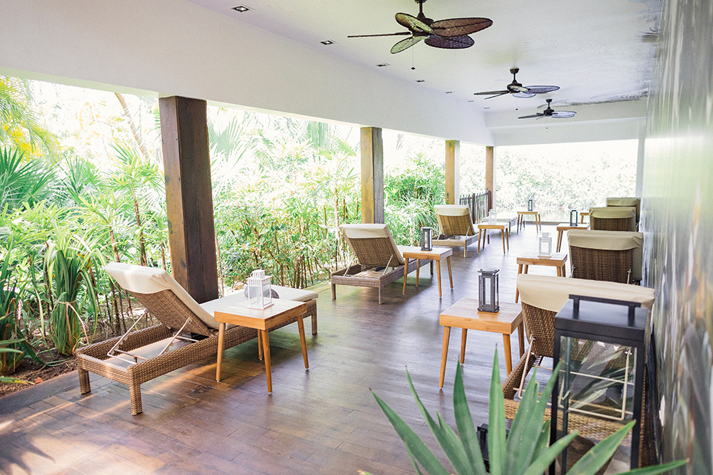 Club Med Spa by L'Occitane at Club Med Cancun Yucatan.