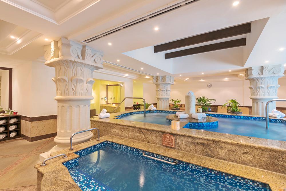 Hydrotherapy at Hilton Playa Del Carmen.