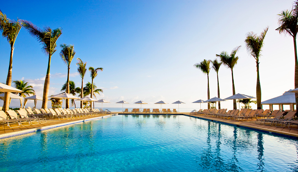 Pool at Hilton Rose Hall Resort & Spa.