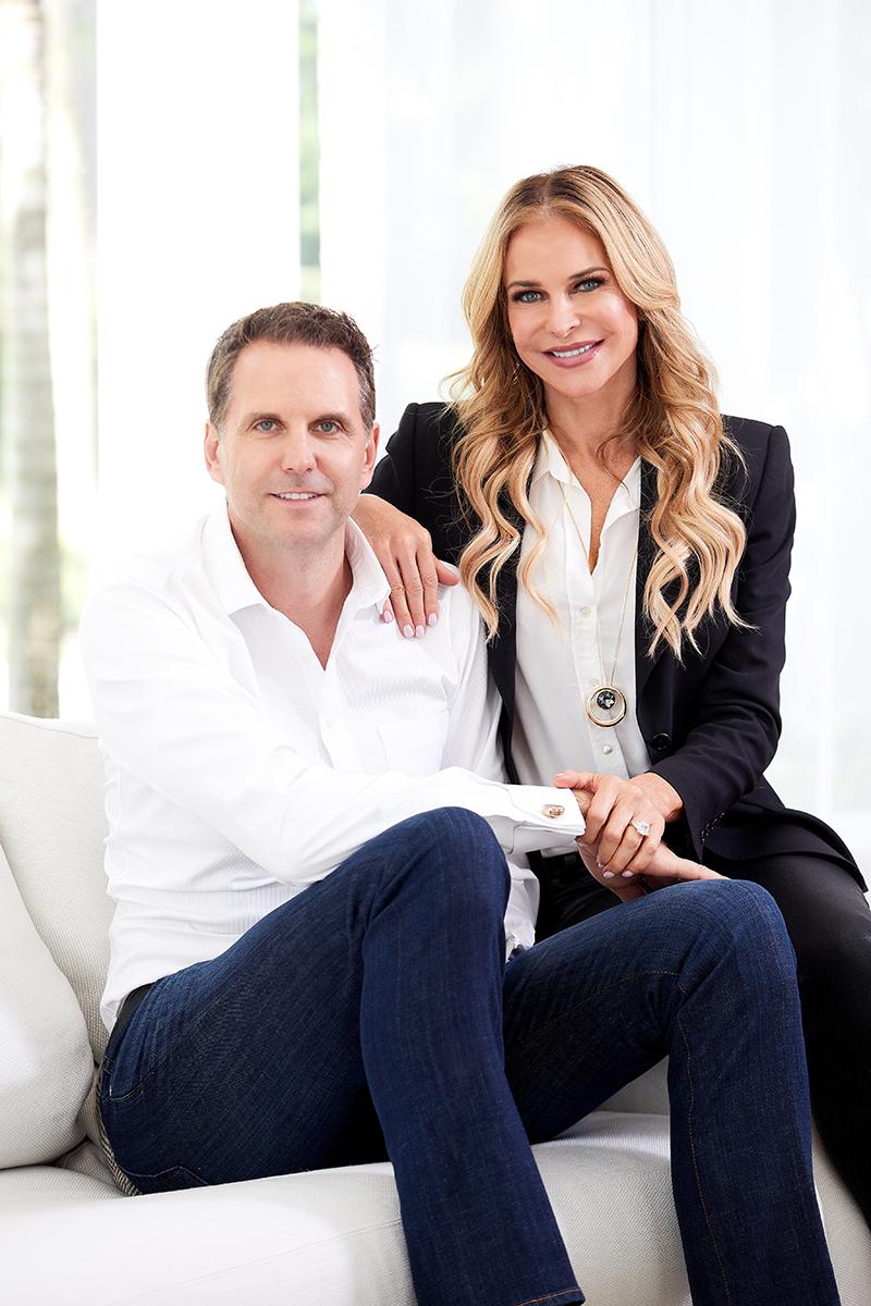 Dr. Marc Ronert & his wife Janna.