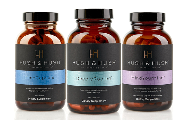 Hush & Hush is a line of clean luxury nutraceuticals created to delay the aging process and help the world live younger and longer.
