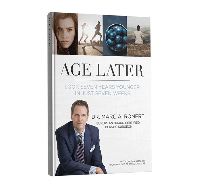 Dr. Ronert's book,  Age Later , details the tools needed to live a youthful, longer, and more fulfilling life.