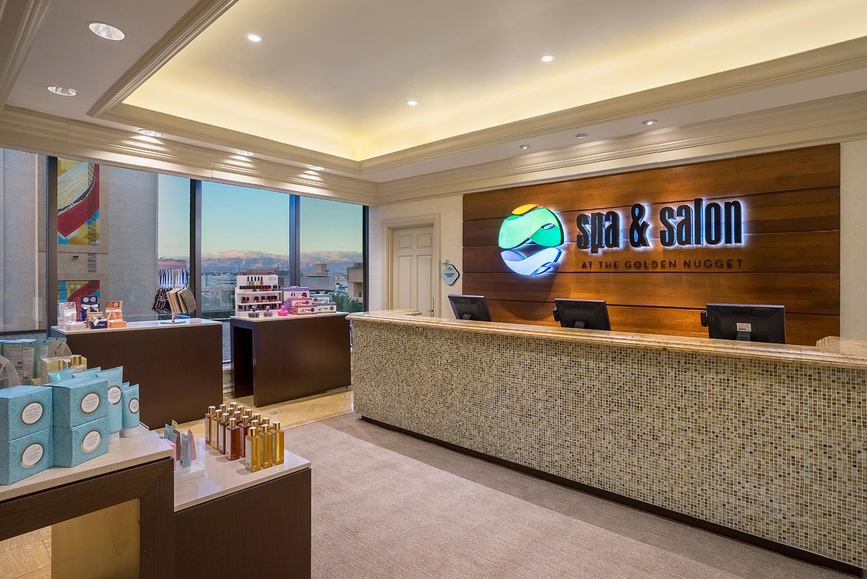 The Spa & Salon at Golden Nugget Las Vegas.