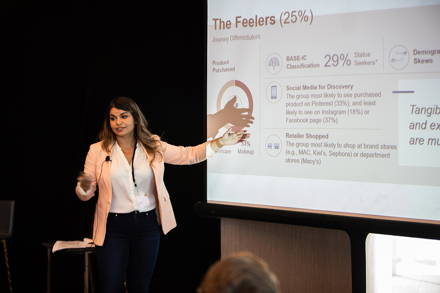 The discussion included such topics as why brands should take the long view and stop chasing trends, the anthropology of online beauty conversations, and an examination of the DNA of online beauty consumers and their ultimate path to purchase.