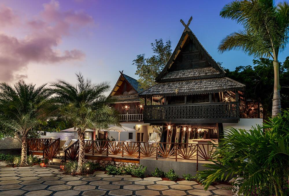 Zemi Thai House Spa in Anguilla.