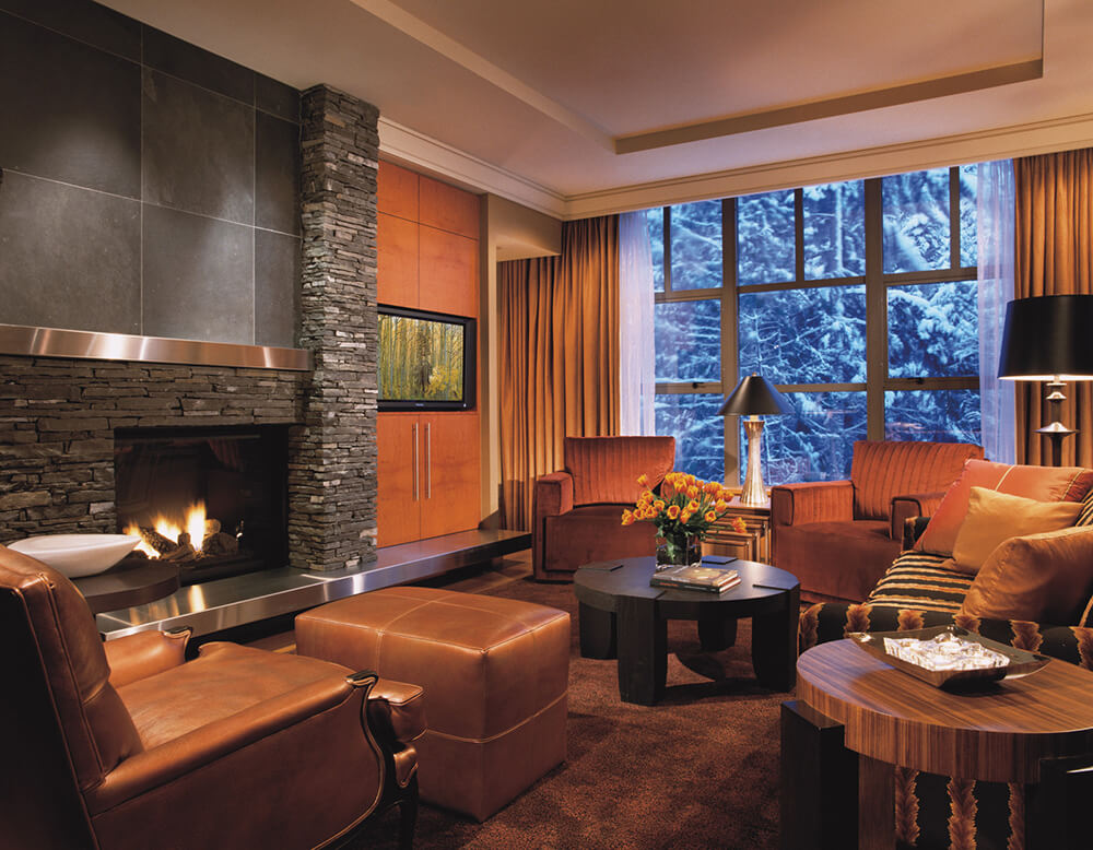 A resort residence at Four Seasons Resort Whistler.