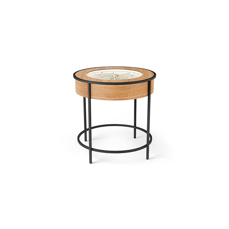 Sisyphus Full Metal End Table Cherry Cherry.jpg