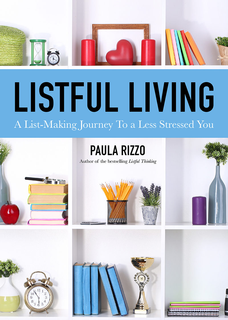 Listful Living: A List-Making Journey to a Less Stressed You  is the journal you need to get your life in order once and for all.