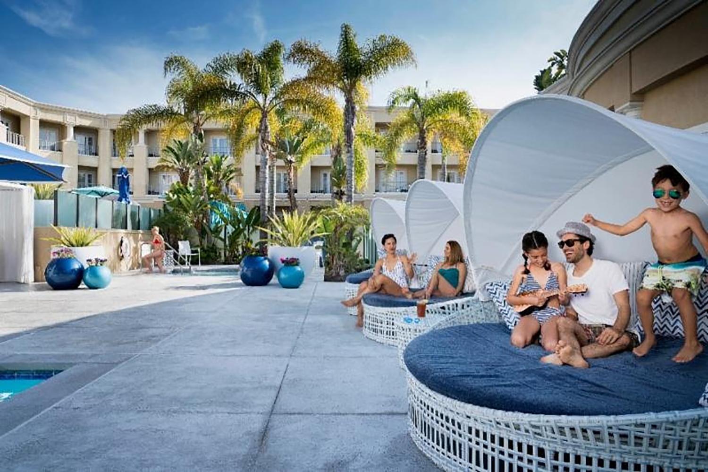Cabana at Balboa Bay Resort.