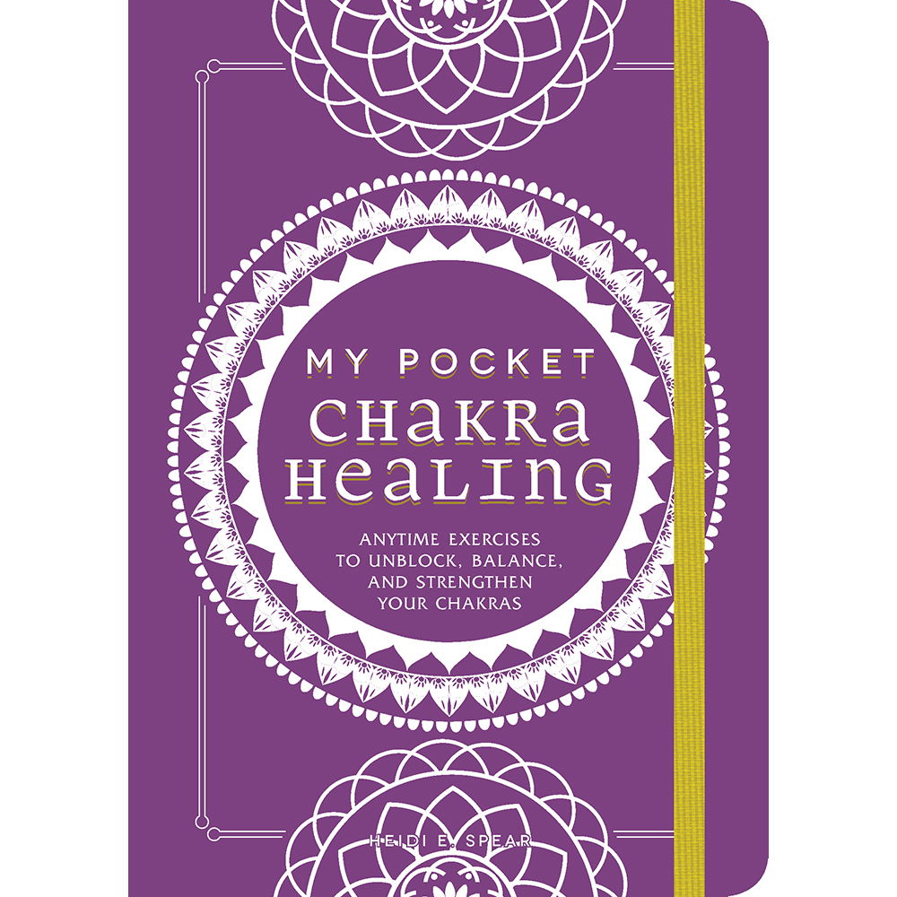 My Pocket Chakra Healing  by Heidi Spear is an essential introduction to chakras—the seven centers that control the flow of energy within your body.