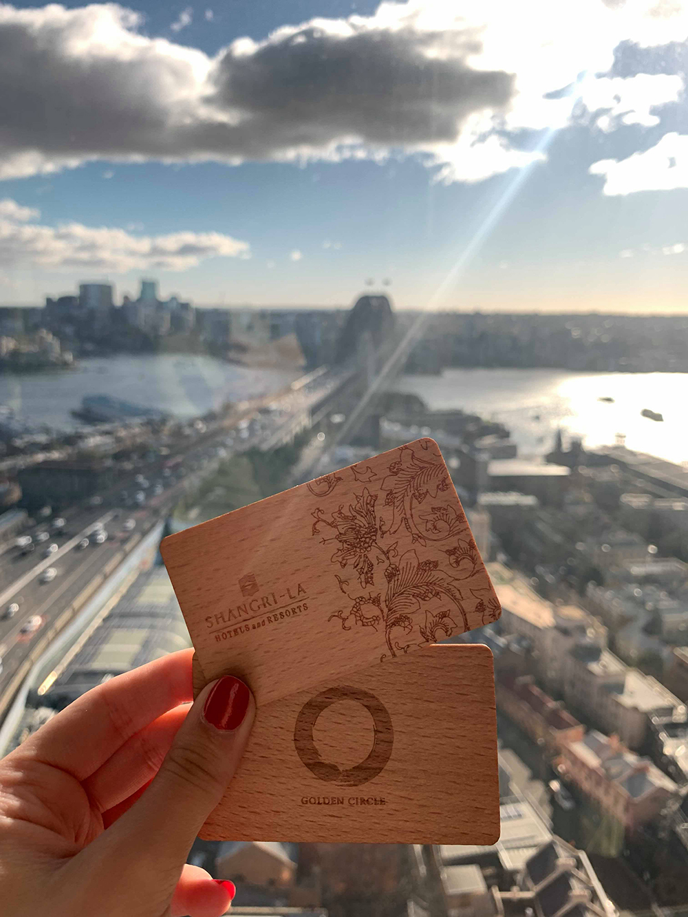 Shangri-La Hotel, Sydney is the first hotel in the city to introduce wooden key cards for all guests.