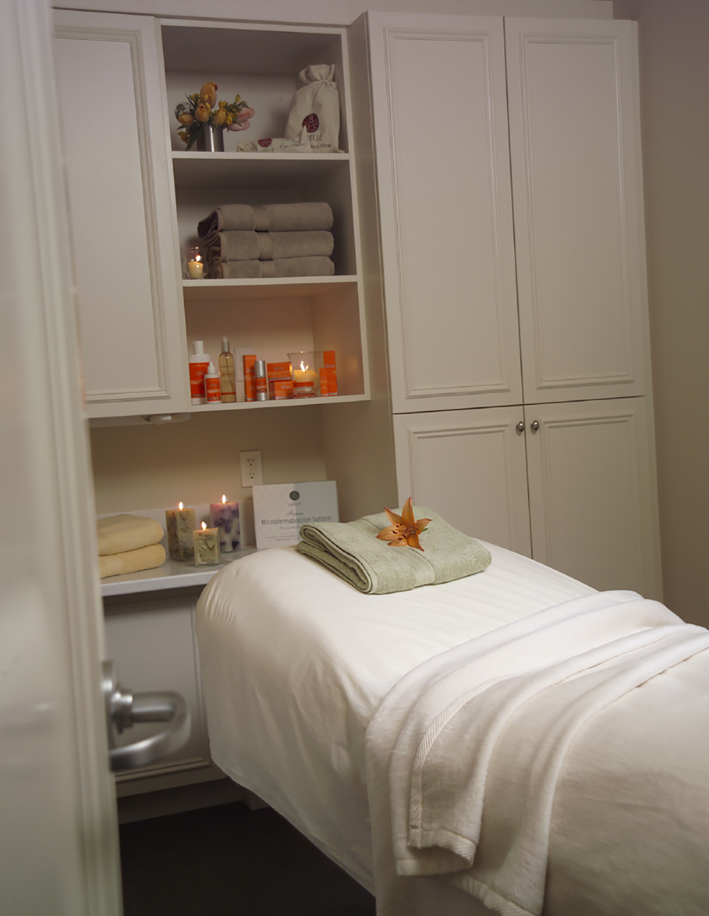A treatment room at the Stanford location.