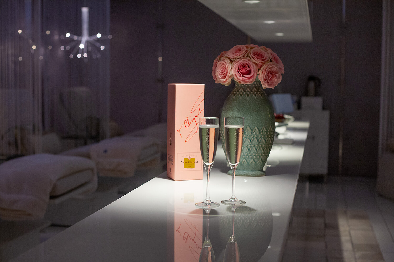 The Ritz-Carlton Spa, Los Angeles has announced a limited-time Veuve Clicquot Collection of treatments.