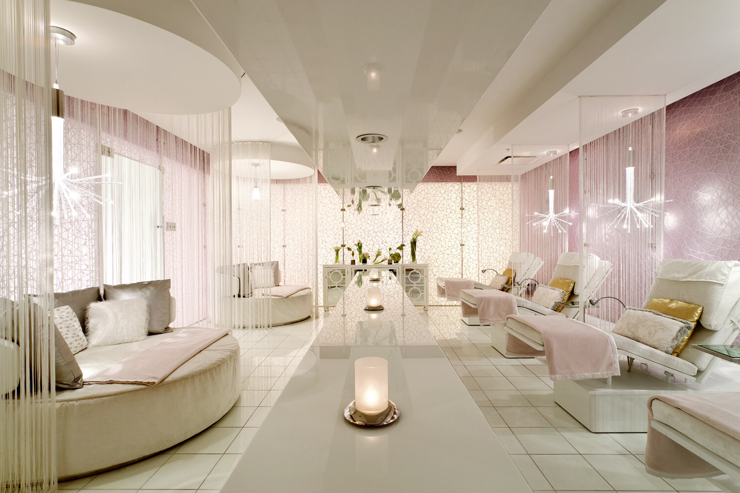 The Ritz-Carlton Spa, Los Angeles is inspired by Old Hollywood Glamour.