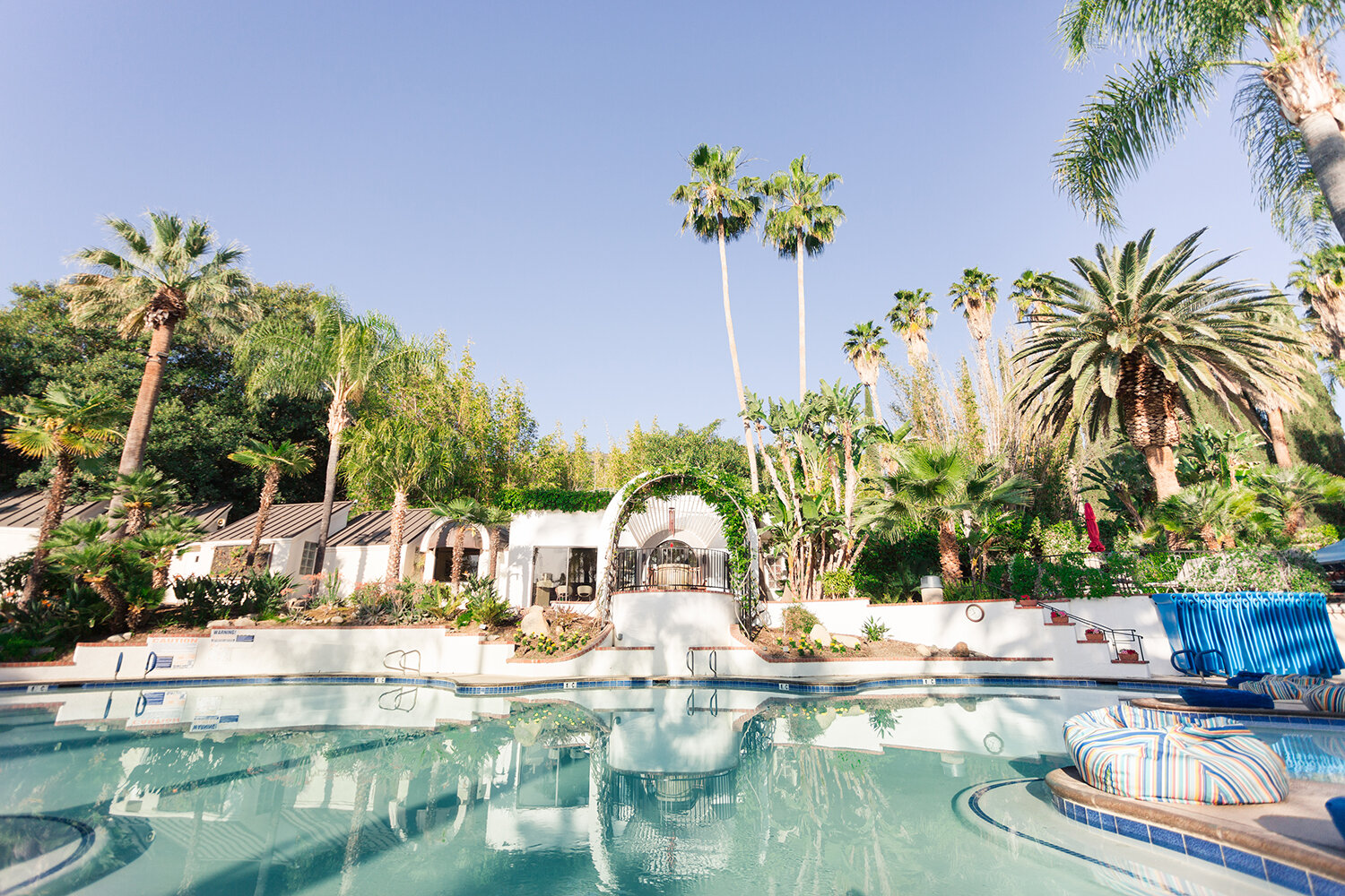 Glen Ivy Hot Springs lies sheltered across 12 lush acres and features 19 therapeutic pools and more.