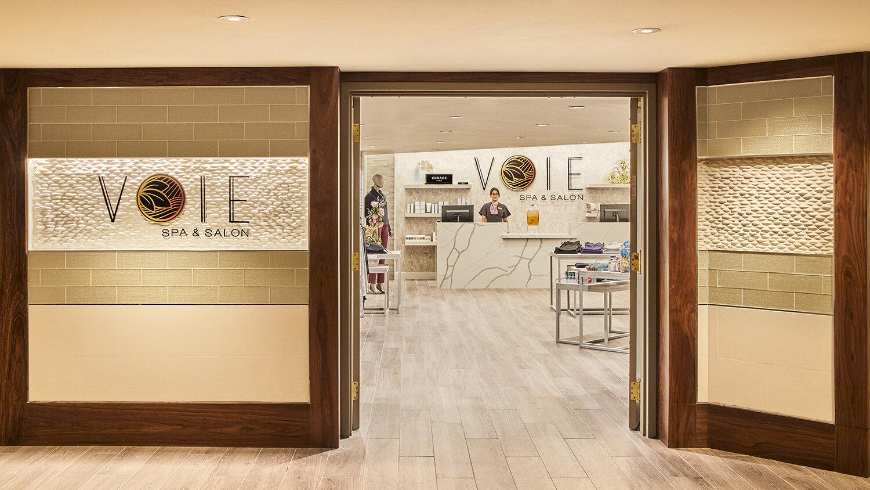 Voie Spa & Salon at Paris Las Vegas is a luxe 25,000-square-foot facility.
