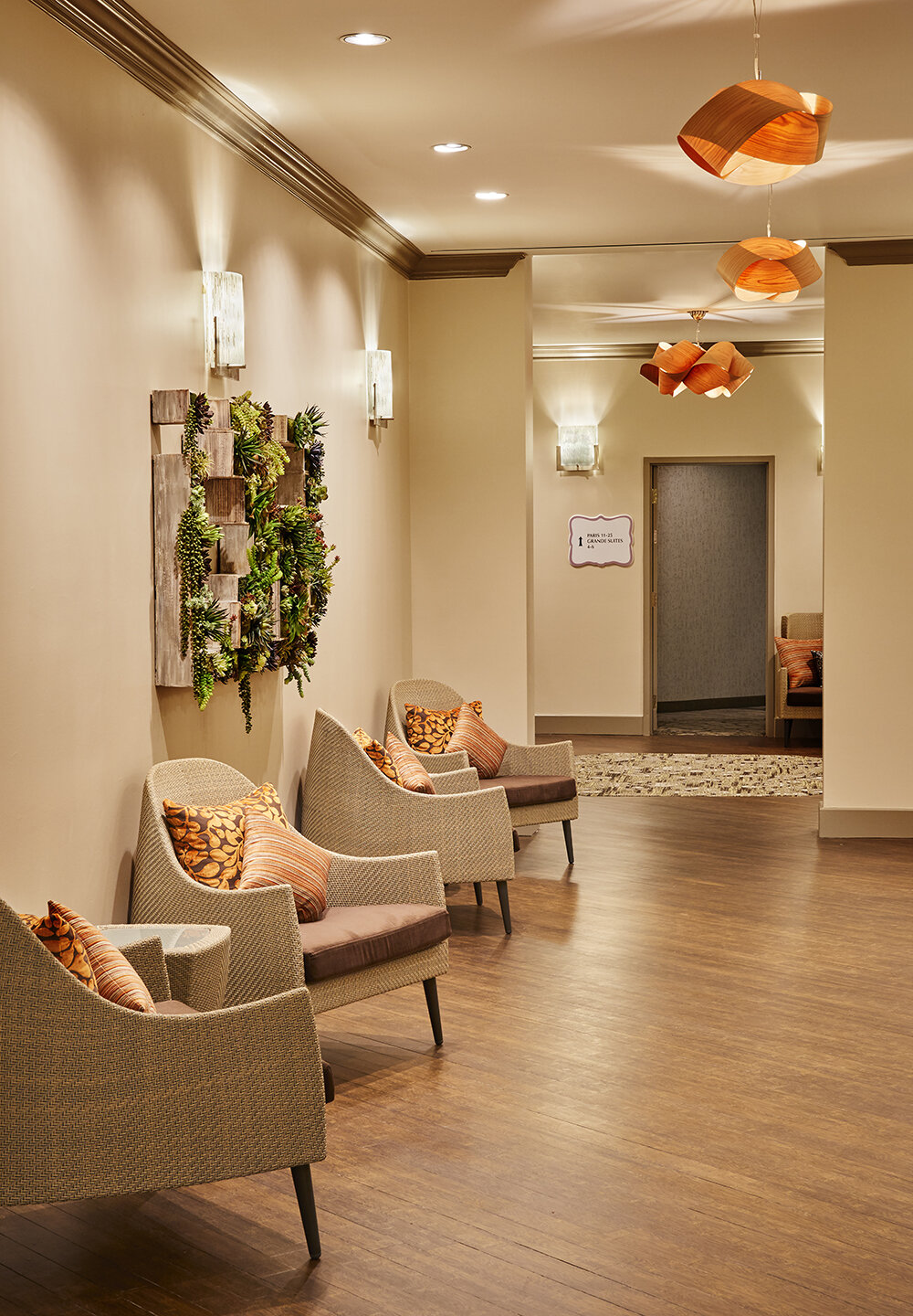 The spa is Inspired by sensory journeys throughout various regions of France.