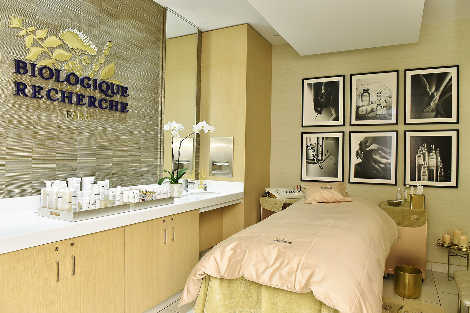 Neiman Marcus Beverly Hills has a new treatment Biologique Recherche room that will offer a selection of the brand's highly-customized, results-driven services.