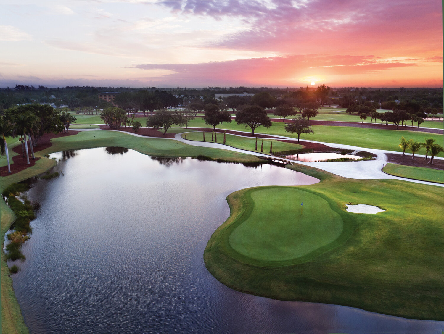 Sunrise with Golf Course Lake View.jpg