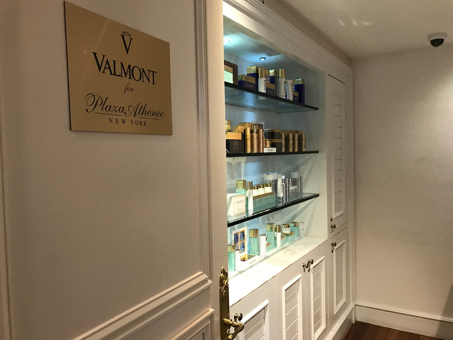 Spa Valmont for Plaza Athénée is an alluring sanctuary in Manhattan, New York.