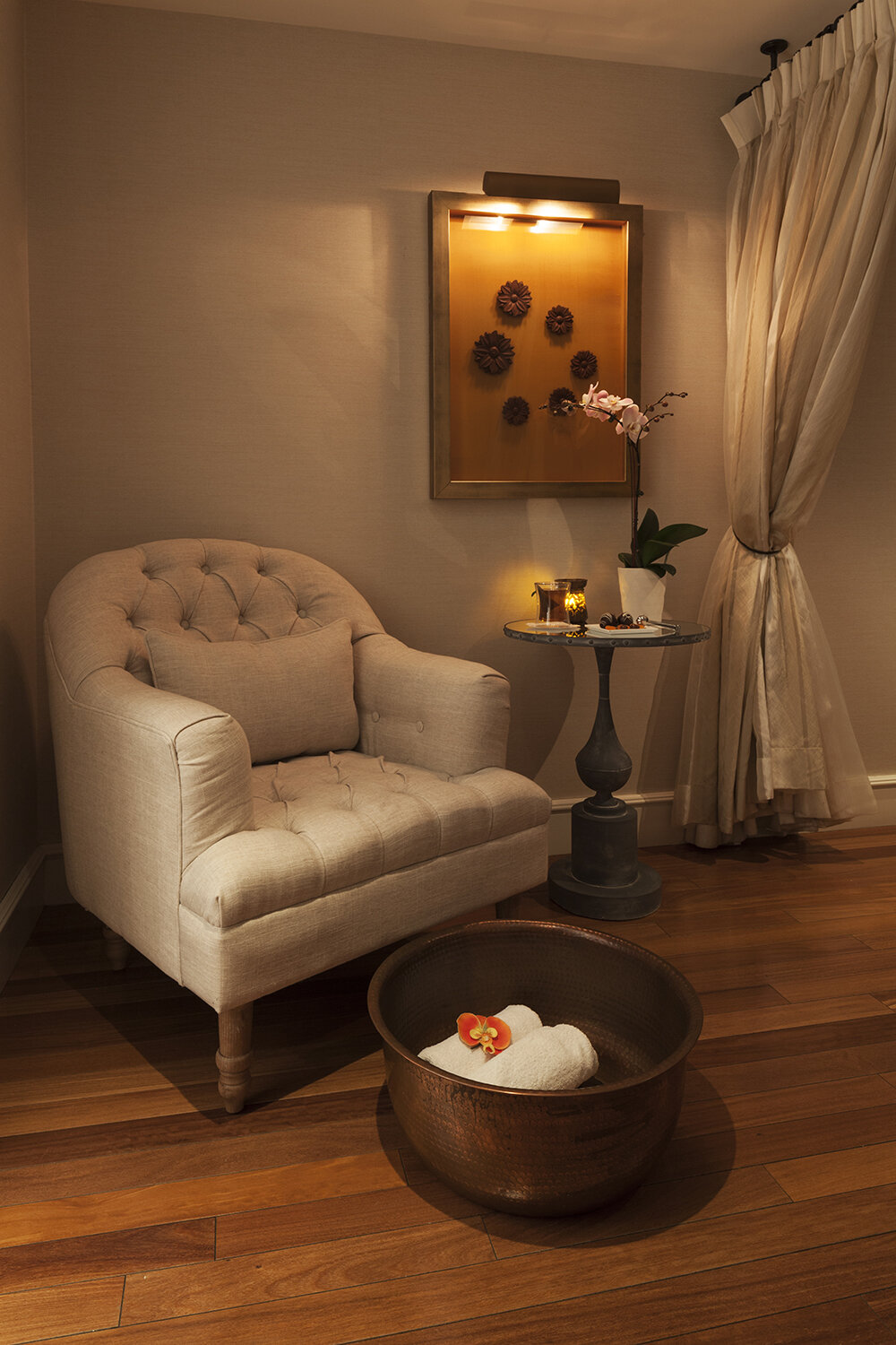 Guests can also enjoy relaxing beauty treatments such as pedicures.