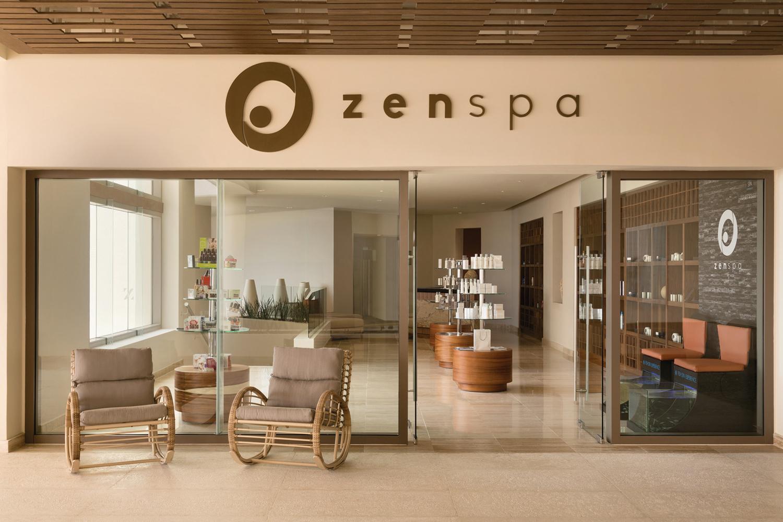 Zen Spa's entrance.