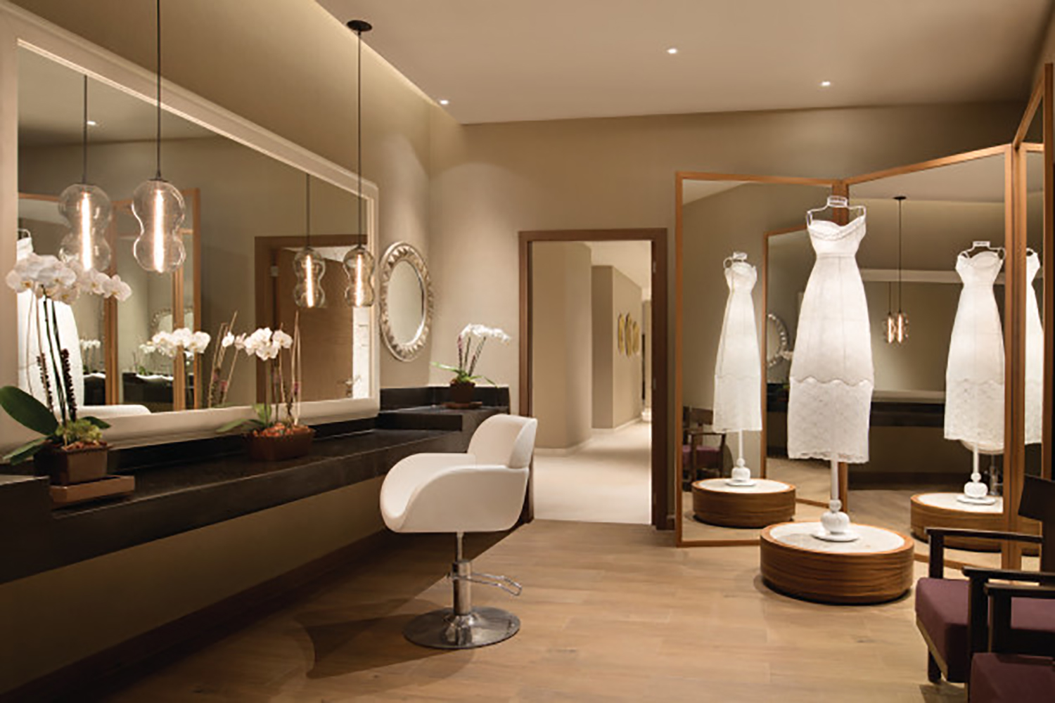 Zen Salon offers a private room for bridal parties and special occasions.