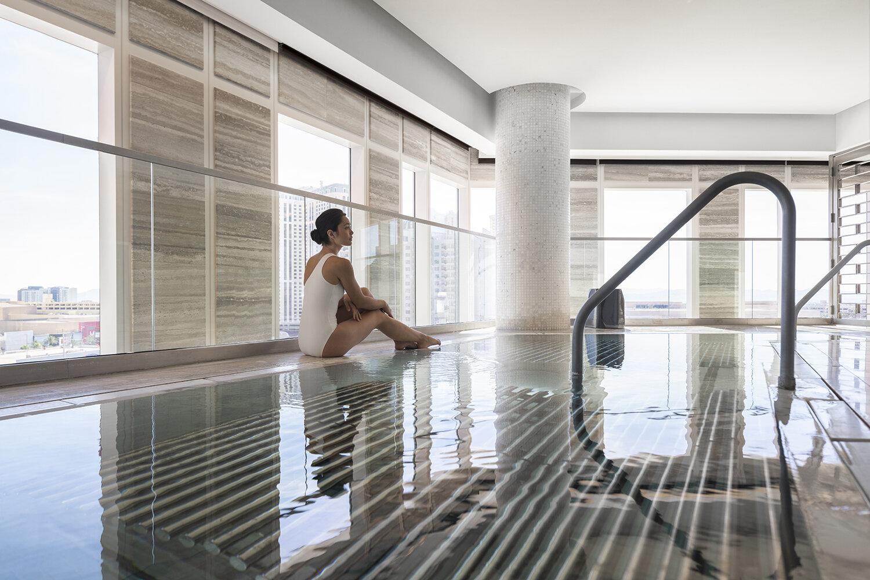 The spa's vitality pool.