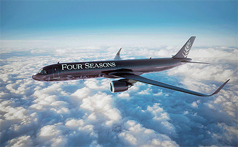 Evoking the bygone glamour of air travel coupled with thoughtful, guest-centric design, the new, fully customized Four Seasons Private Jet will offer exceptional journeys for 48 globetrotting travelers.