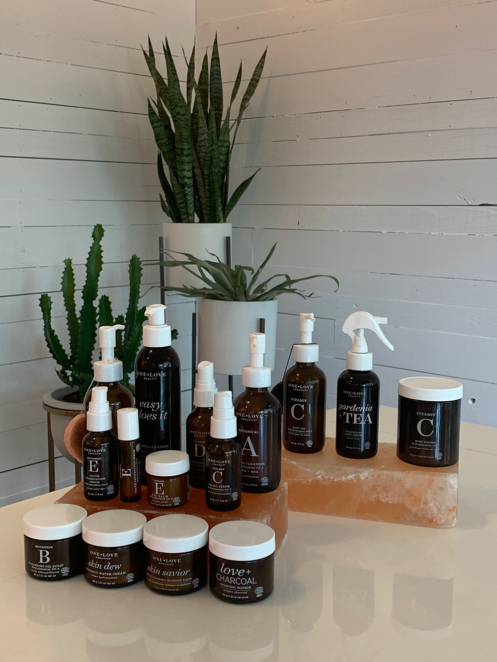 One Love Organics' award-winning skin care products are produced in small batches at the company's ECOCERT® licensed manufacturing facility in the Golden Isles of Georgia.