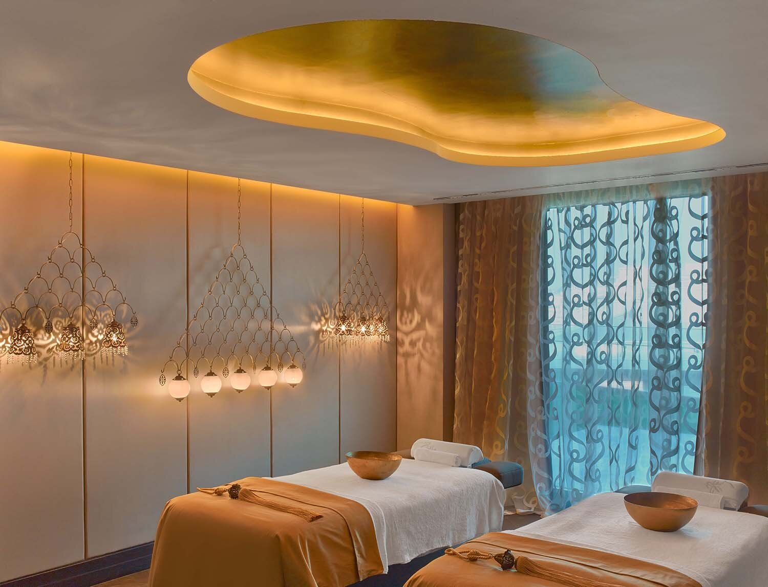 One of the spa's couples' treatment rooms.
