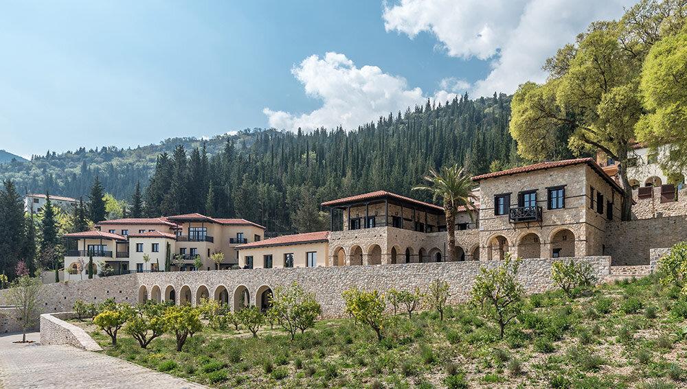 Spa & Retreat Profile: Euphoria Retreat in Mystras, Greece