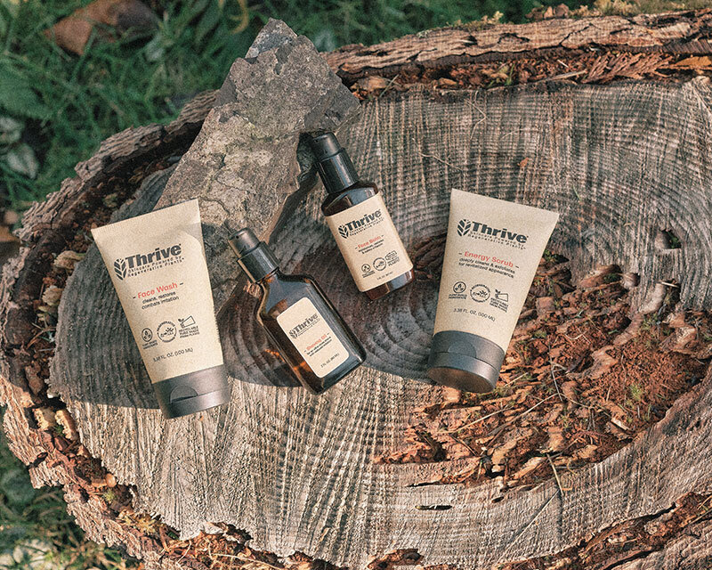 Sustainable Spotlight: Thrive, Unique Plant-Based Skincare with Regenerative Practices