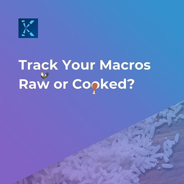 ⚖️Weighing and tracking your food raw is the most  accurate -  food either absorbs water or water evaporates during cooking. 🍚For example, 100 grams of uncooked rice will weigh less than 100 grams once it's cooked. The weight change will depend on the cooking method and time. 🌝If you track 100 grams of cooked rice and then measure that rice out once cooked, you'd be eating more than you accounted for. 🔮What if you forget to measure your food raw...it happens! Now what? 🕵🏻♂️If you have to track cooked food, make sure the entry you use in Keystone matches the food you're measuring as closely as possible. 🤘🏼😈 Track like a boss and keep kicking your goals! . . . . . #pt#coach#personaltrainer #personaltrainers #trainer#coaching #macro #macros#protein#food#diet#countingmacros#nutrition#trainertips #nutritionplan#nutritionplans#macrocounting#dietitian #nutritionfacts #nutritionist #bodytransformation #nutritionnerd #balance#optimalhealth #lifestyle #nutritioncoach#app#healthapp#fitnessapp#thursday