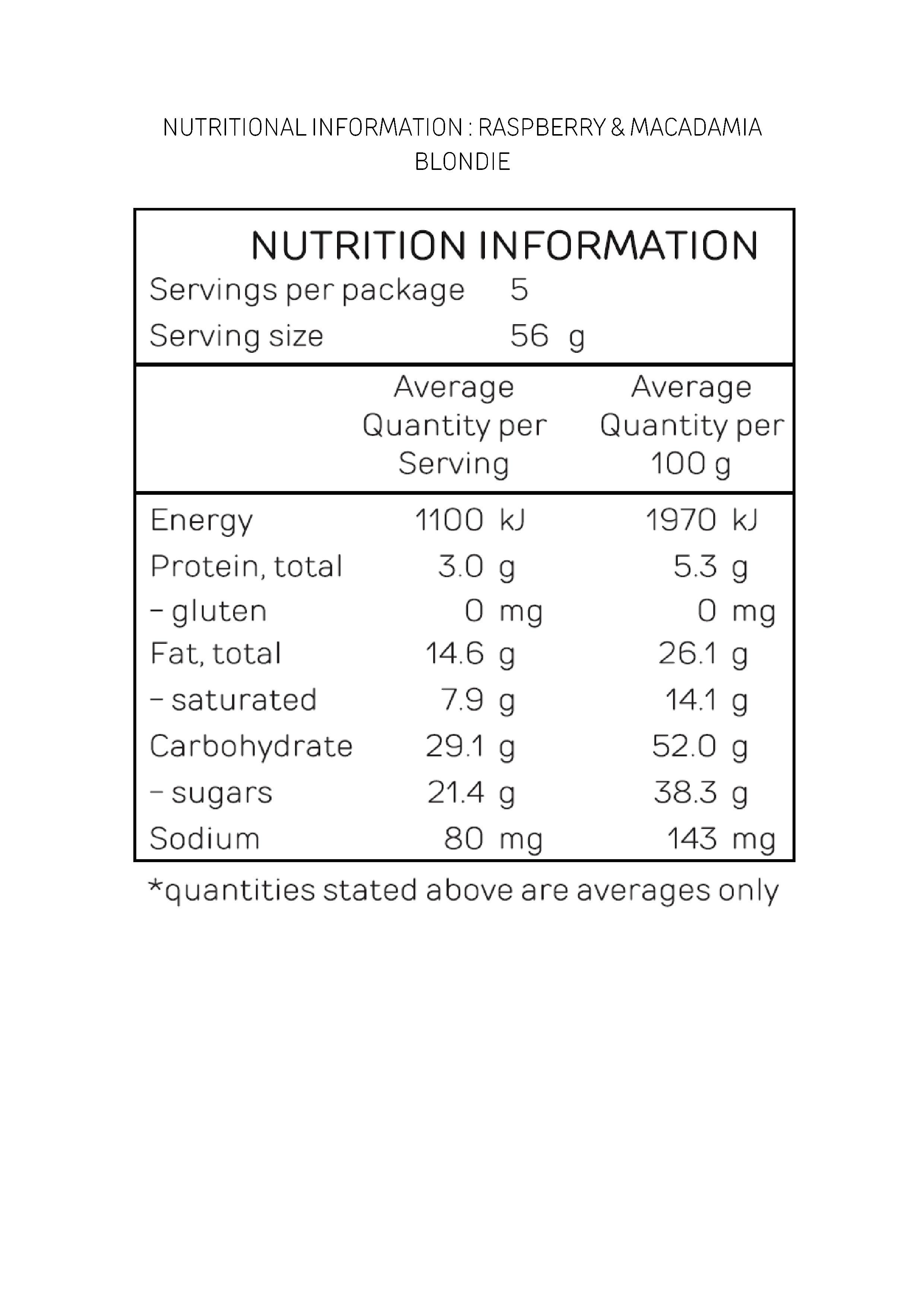 NUTRITIONAL INFORMATION_RASPBERRY & MACADAMIA BLONDIE.jpg
