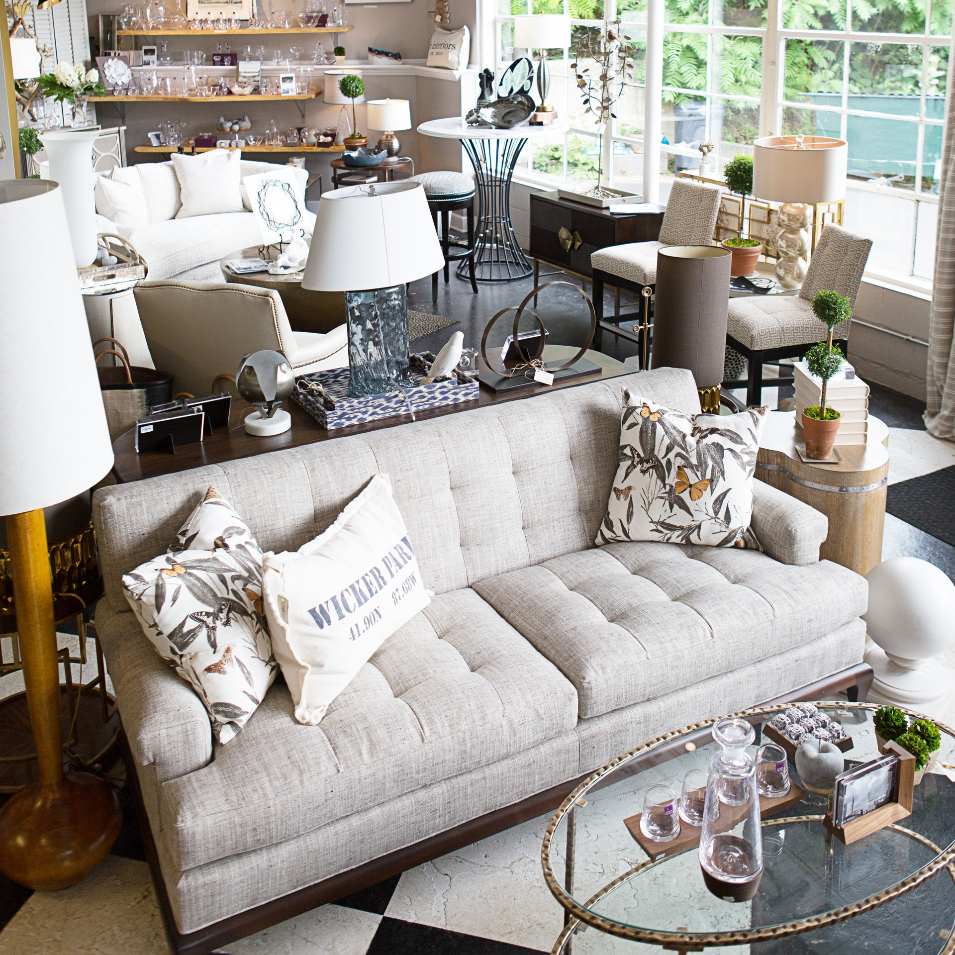 Find Design Inspiration  Our store was designed to breathe new life into the everyday, just like our homes. Spend an afternoon wandering our store, taking in the beauty, imagining the possibilities and being inspired by the magic of interior design.