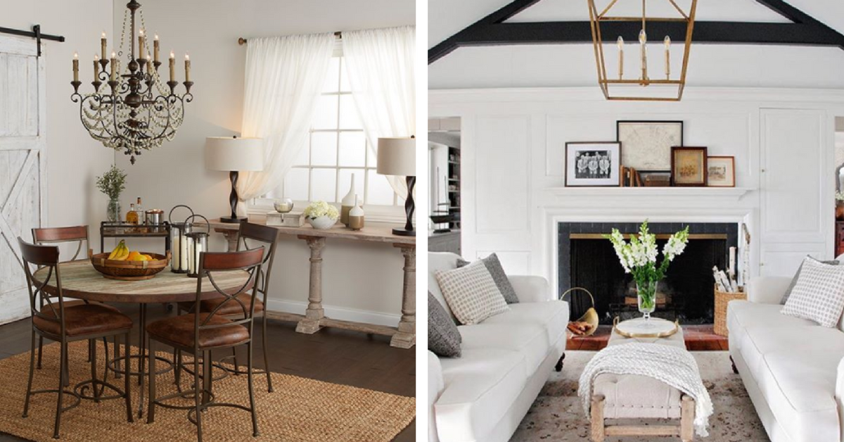 farmhouse style interior design