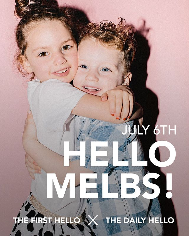 MELBOURNE! We are so excited to announce that we are coming in JULY. We have a feeling this is going to sell out fast so go to our website (link in bio) and secure your spot. We can't wait to meet you! ✨✨ . . . #kids #kidsofmelbourne #melbournephotgraphy #kidphotographymelbourne #kidsportraitsmelbourne #kidsportraits #childphotography #kidsfashionblogger #motherhood #kidsofinstagram #coolkid #melbourne #melbournekids