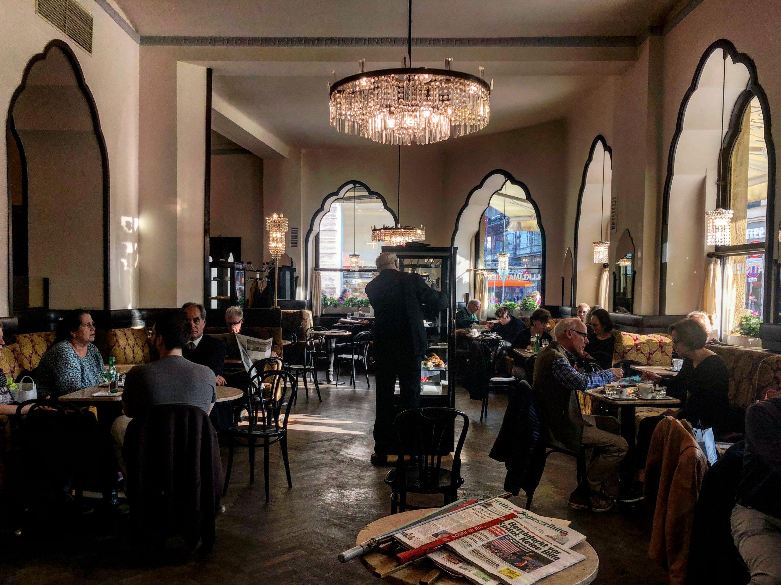 Cafe Tirolerhof, Vienna