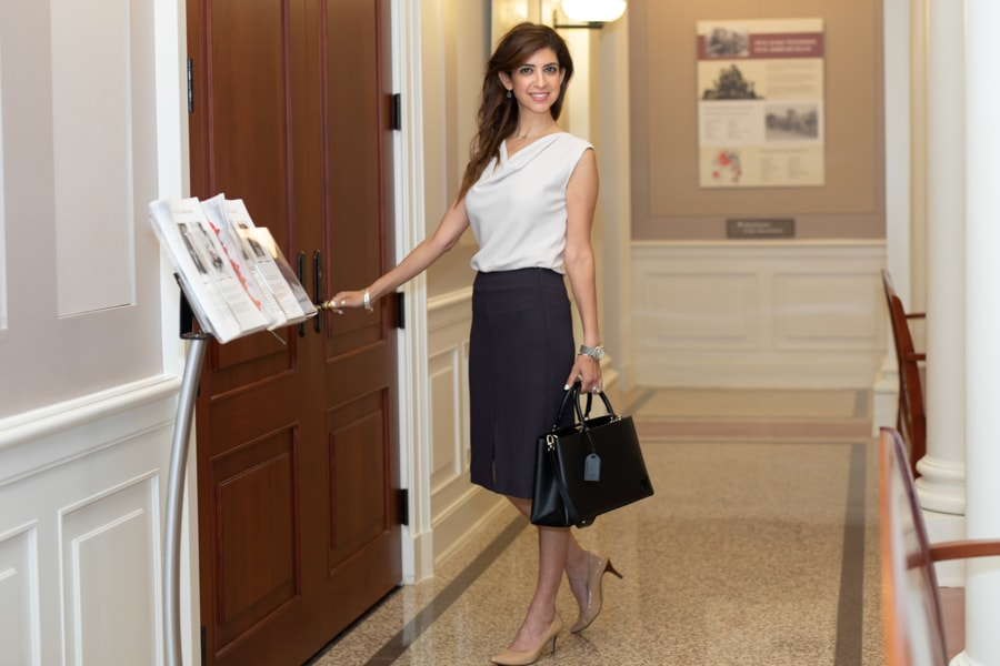 """Photograph of """" Rowling Top """" and """" Greenpoint Skirt """"by:  Jeriann Severson Photography"""