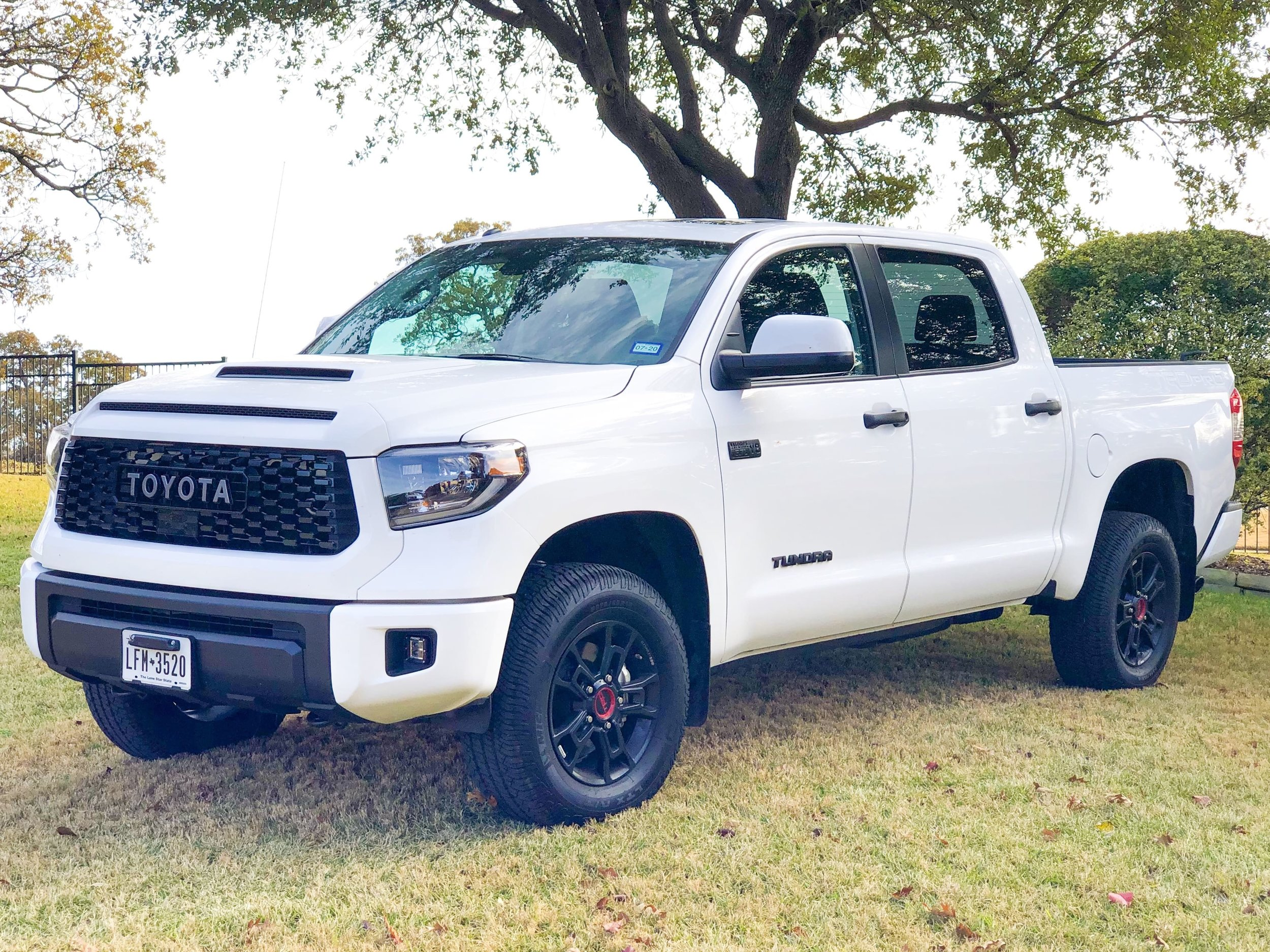 The all new 2019 Toyota Tundra TRD Pro CrewMax (Photo Credit: Neda Khalilian)