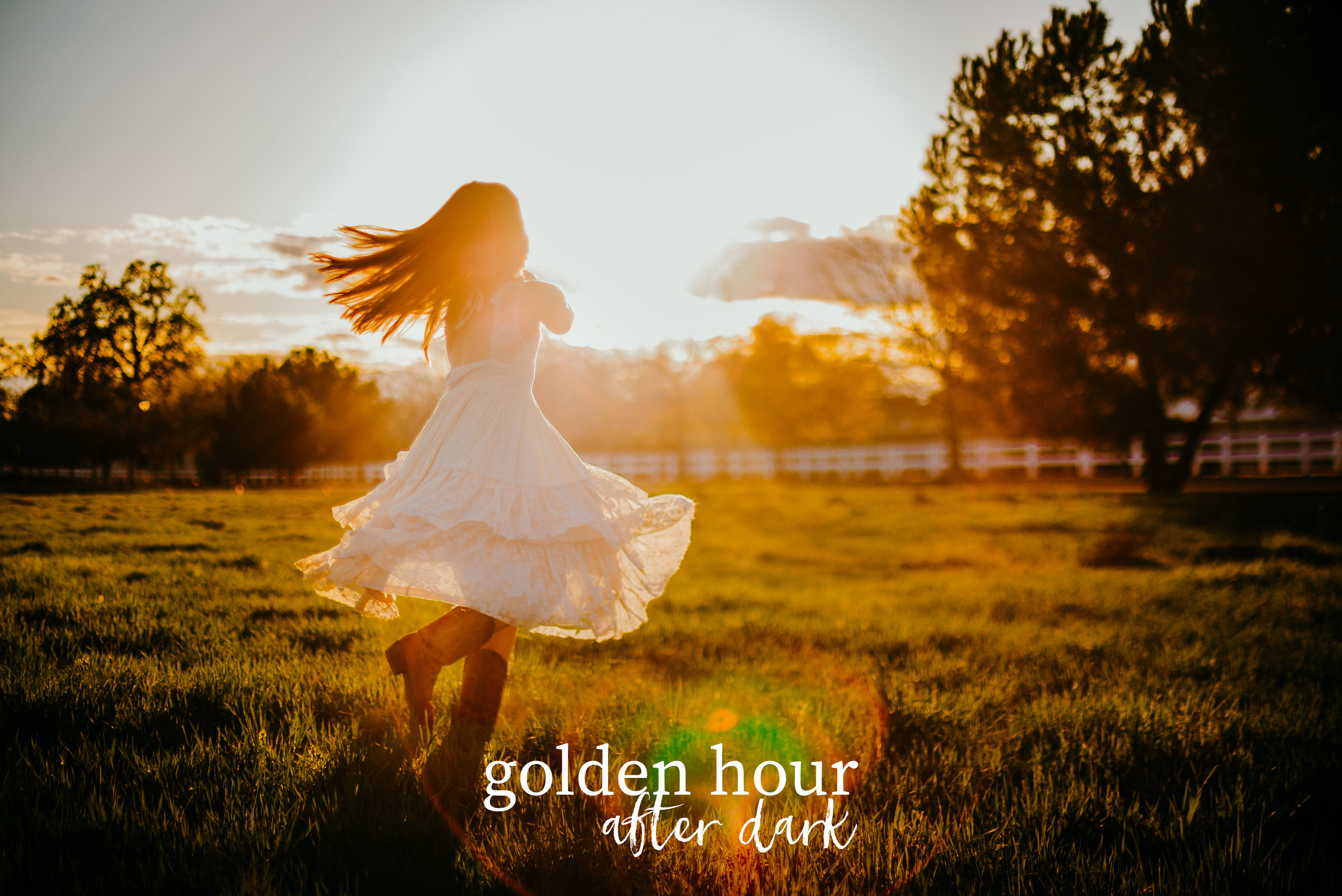 golden hour | after dark   - if you thought   golden hour   was rich, just add this gorgeous preset to your sun-kissed flares for the ultimate golden takeover.