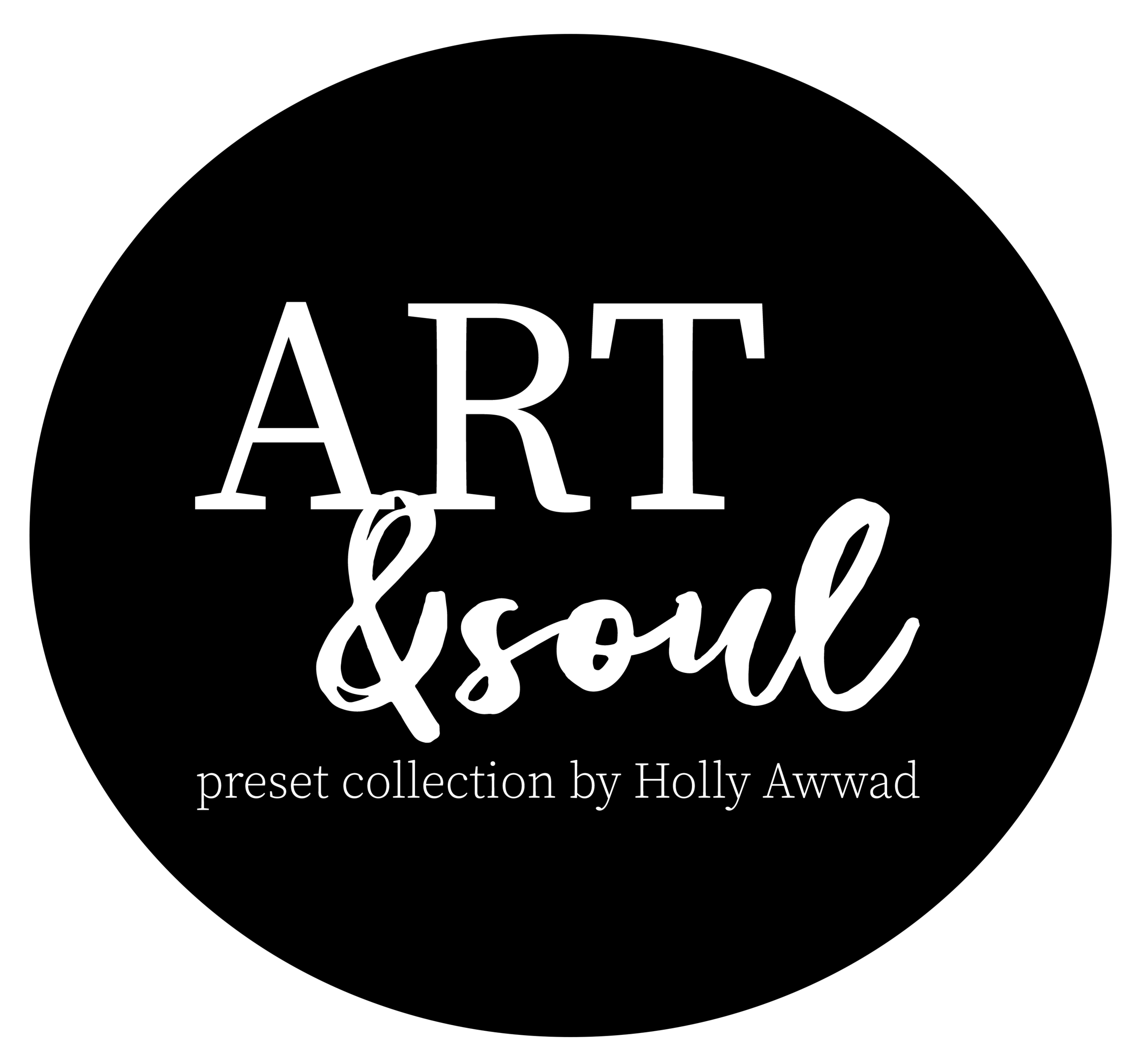 Art and soul presets logo - white font - round.png