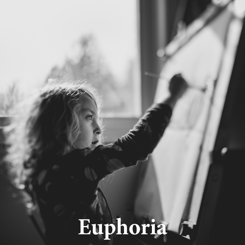 Euphoria: Dreamy, buttery texture, & lovely contrast