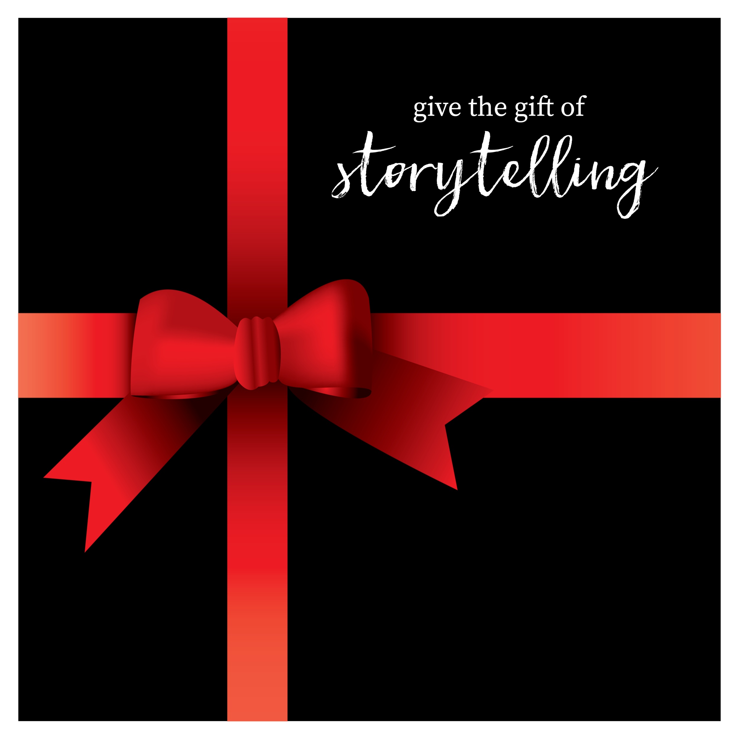 HS now has gift cards available in the store for every storytelling occasion!