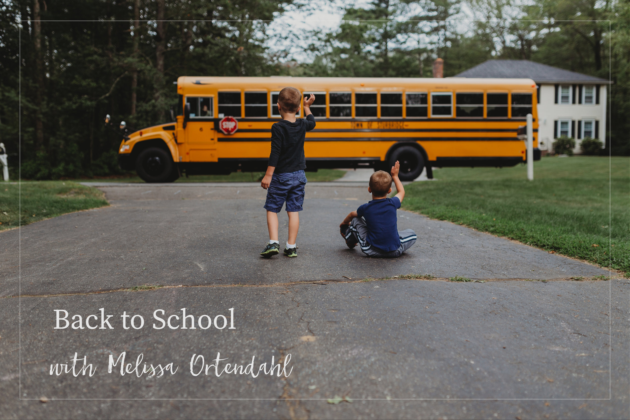 Back to School: Mini Course - with Melissa Ortendahl