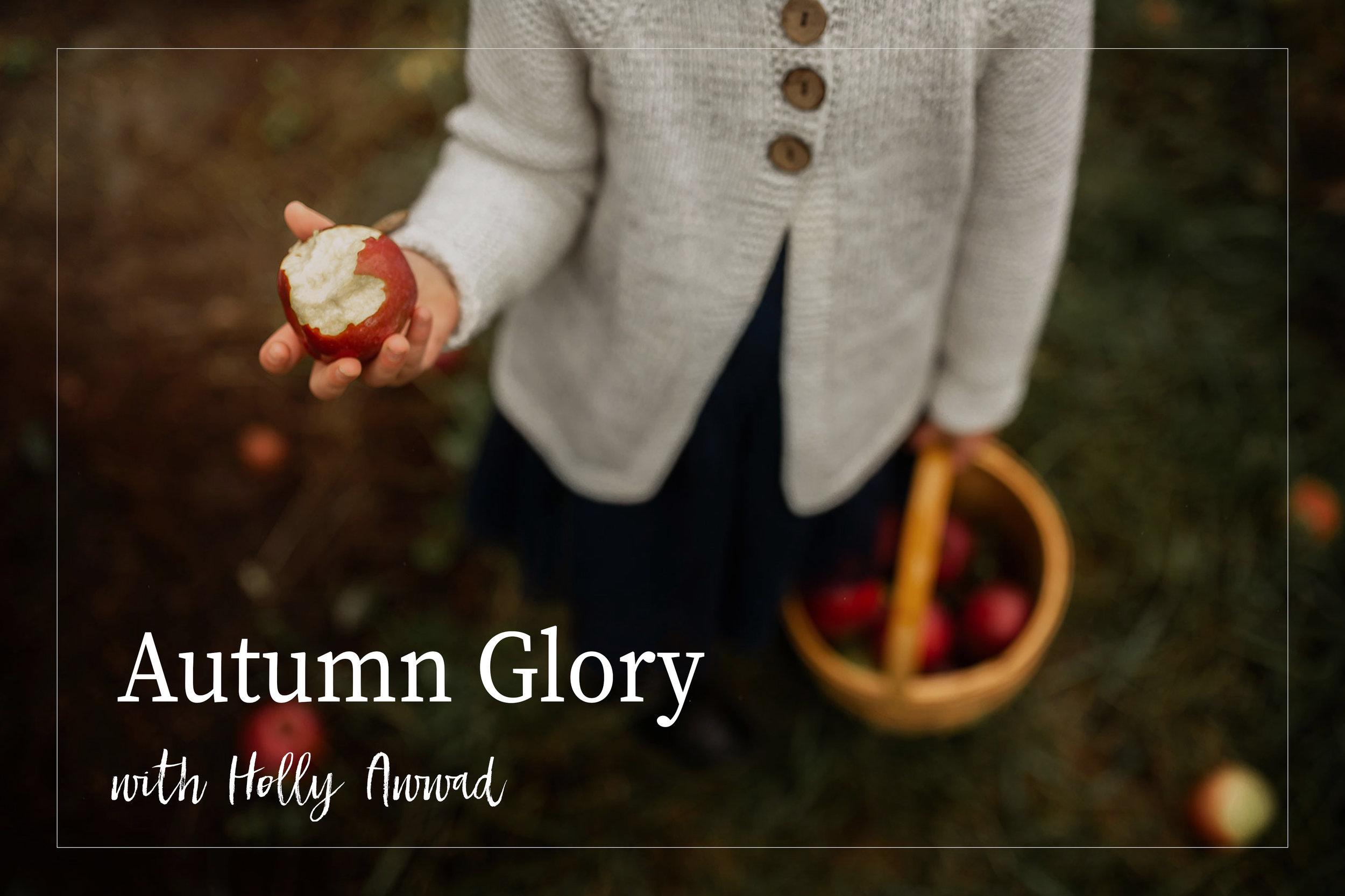 Autumn Glory: a mini course - with Holly Awwad