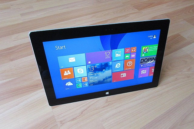 The Windows 8 operating system (Photo courtesy of pixabay.com)