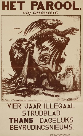 Het Parrol was a newsletter published by the Dutch resistance during the German Occupation of the Netherlands in WWII.